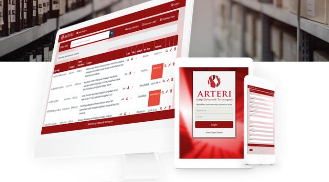 Arteri: Aplikasi Arsip Elektronik Terintegrasi