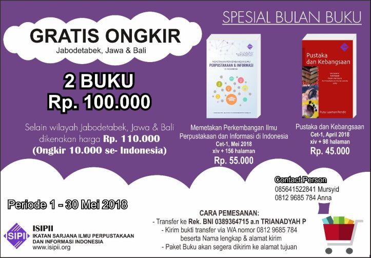 Promo Bulan Buku ISIPII